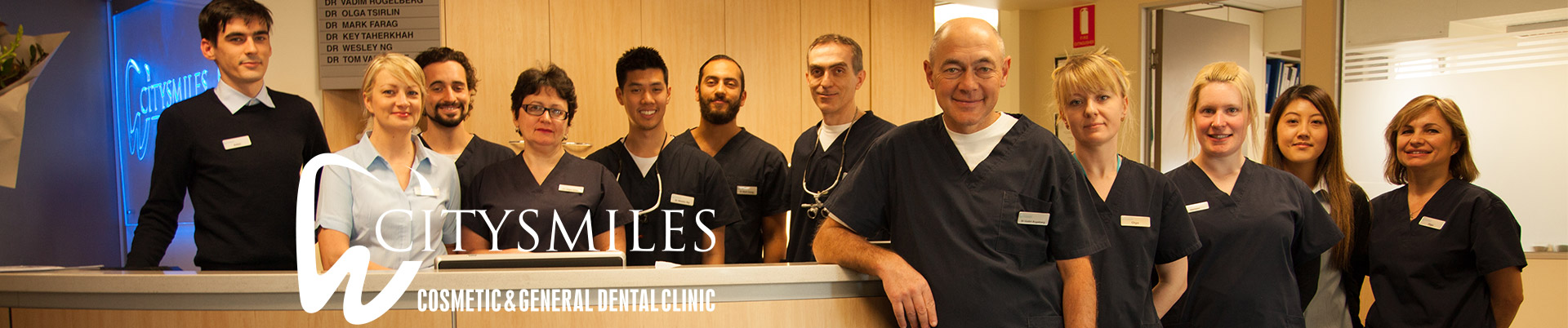 City Smiles team - Cosmetic and General Dentistry and Dental Implants Melbourne